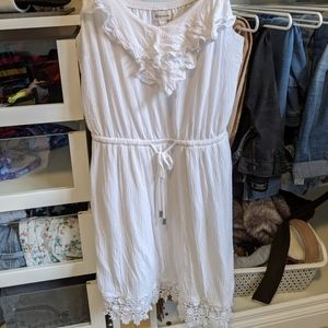 White Prairie Dress